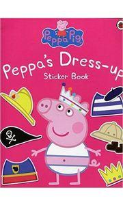 Peppa Pig: Peppa Dress- Up Sticker Book