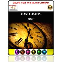 Class 3, Time, Online test for Maths Olympiad