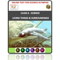 Class 6 Science Worksheets- World of living