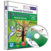 Class 8- IEO Olympiad preparation- Powerful test series (CD)