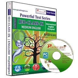 Class 9- IEO Olympiad preparation- Powerful test series (CD)
