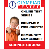 Class 2 Science Olympiad Course- (Online test series+ Printable worksheets+ Community Membership)