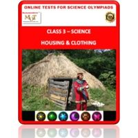 Class 3. Housing & Occupation, Online test for Science Olympiad