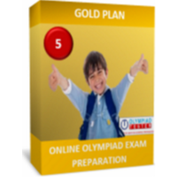 Class 5, IMO Preparation, Gold Plan (Online mock tests, sample questions and printable worksheets)