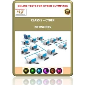 Class 5, Computer networks, Online test for Cyber Olympiad
