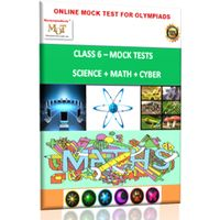 Class 6, Online Mock tests, Math+ Science+ Cyber
