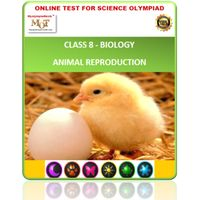 Class 8, Animal reproduction, Online test for Science Olympiad