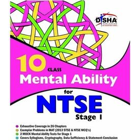 Class 10- Mental Ability for NTSE (Stage 1)