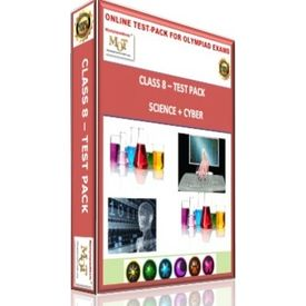 Class 8, Online test pack, Science+ Cyber