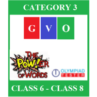 Online Global Vocabulary Olympiad (GVO) - Category 3 (Class 6- Class 8)