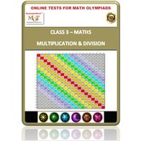 Class 3, Multiplication & Division, Online test for Math Olympiad