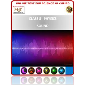 Class 8, Physics- Sound, Online test for Science Olympiad