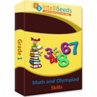 Grade 1- Math Olympiad (Including Reasoning) - 3 months- Intelliseeds