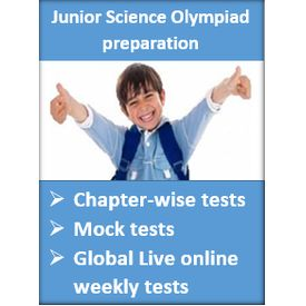 Junior Global Online Weekly Science Olympiad test- GLOWSOT (Class 3 to Class 6)