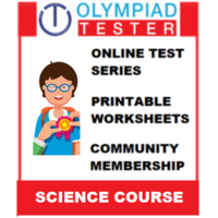 Class 5 Science Olympiad Course (Online test series+ Printable worksheets+ Community Membership)