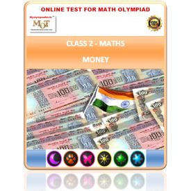 Class 2, Money, Online test for Maths Olympiad
