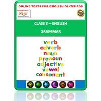 Class 3, Grammar, Online test for English Olympiad
