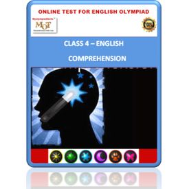 Class 4, Comprehension, Online test for English Olympiad