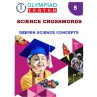 Class 5 Science 50 Printable Crosswords (PDF)