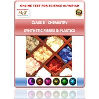 Class 8, Synthetic fibres, Science Olympiad online test,
