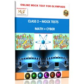 Class 2, Online Topic wise tests, Math+ Cyber- MOT