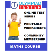 Class 5 Maths Olympiad course (100+ Online tests+ Printable Worksheets)