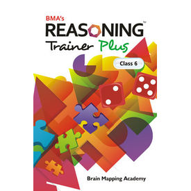 Class 6- Reasoning trainer plus (with solution book) , Mental Ability