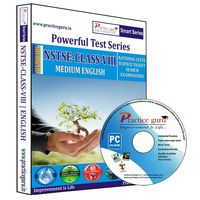 Class 8- NSTSE Olympiad preparation- Powerful test series (CD)