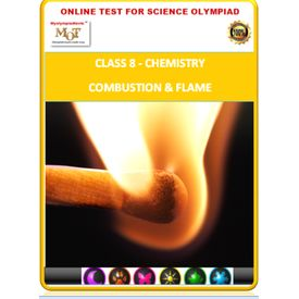 Class 8, Combustion & Flame, Science Olympiad online test,
