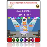 Class 5, LCM & HCF, Online test for Math Olympiad