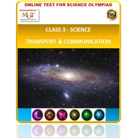 Class 3, Transport & Communication, Online test for Science Olympiad