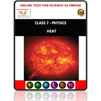 Class 7, Heat, Online test for Science Olympiad