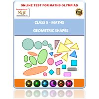 Class 5, Geometry, Online test for Math Olympiad