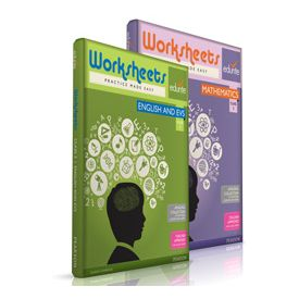 Class 3 Maths, English And EVS, Worksheets