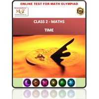 Class 2, Time, Online test for Maths Olympiad