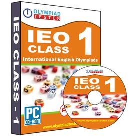 Class 1- IEO Olympiad preparation test series (CD)