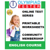 Class 2 English Olympiad Course- (Online test series+ Printable worksheets+ Community Membership)