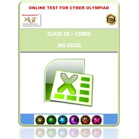 Class 10, MS- Excel, Online test for Cyber Olympiad