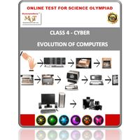 Class 4, Evolution of computers, Online test for Cyber Olympiad
