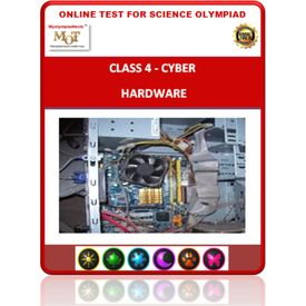 Class 4, Hardware, Online test for Cyber Olympiad