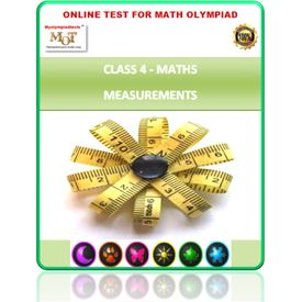 Class 4, Measurement, Online test for Maths Olympiad