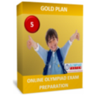 Class 5, IMO NSO Exam Preparation Guide, Gold Plan