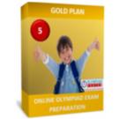 Class 5, IMO Exam Preparation Guide, Gold Plan
