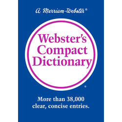 Webster s Compact Dictionary
