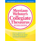 Merriam- Webster's Collegiate Thesaurus