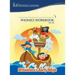 Britannica s Early Steps- Phonics Workbook- Nursery- Paperback