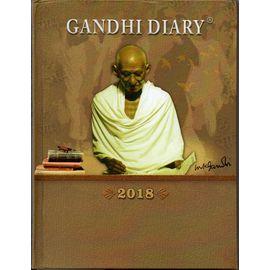 Gandhi Diary 2018 (Big Size) , Daily Diary 2018