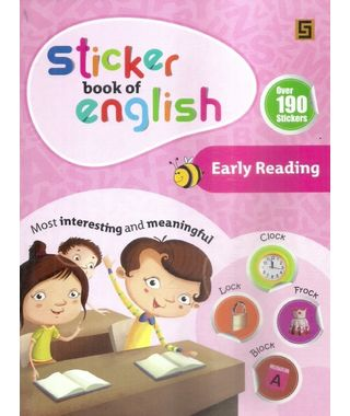 Sticker Book Of English Early Reading