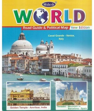 World Road guide & Political Map