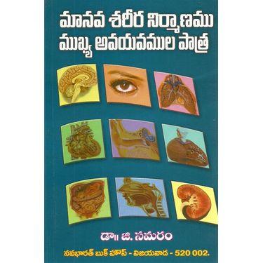 Manava Sareera Nirmanamu Mukhya Avayavamula Patra